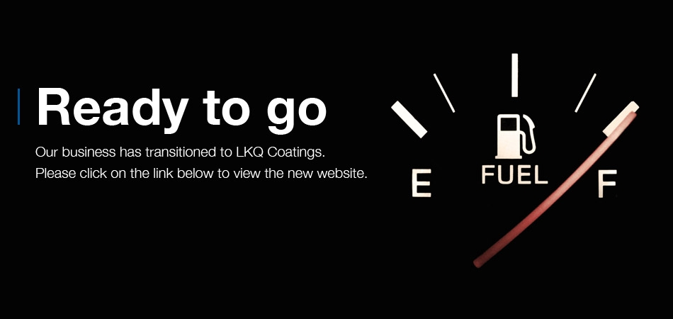 Our business has transitioned to LKQ Coatings.
